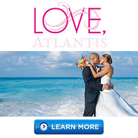 Destination Weddings at Paradise Island Resorts Atlantis