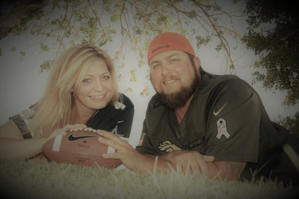 Debbie Thompson and Chris Scott