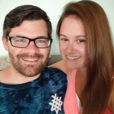 Ashley Thurston and Glenn Maneval